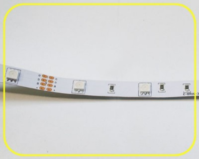 LED Strip 10 cm 3 RGB LEDs 12V 0,72W IP20 – Bild 4
