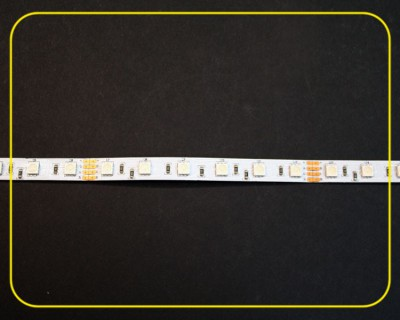 RGB LED Strip 10 cm 6 SMDs 24V 1,44W IP20 – Bild 3