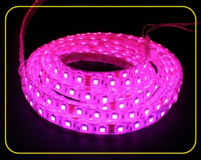 RGB LED Strip 10 cm 6 SMDs 24V 1,44W IP65 – Bild 1