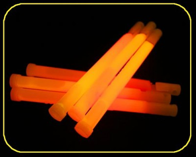 15cm Knicklicht Easy Light orange Ø 12 mm – Bild 3